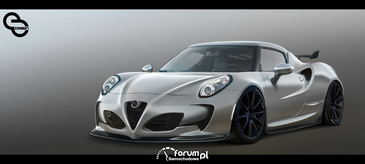 Top Photochop - #6 Konkurs Alfa Romeo 4C