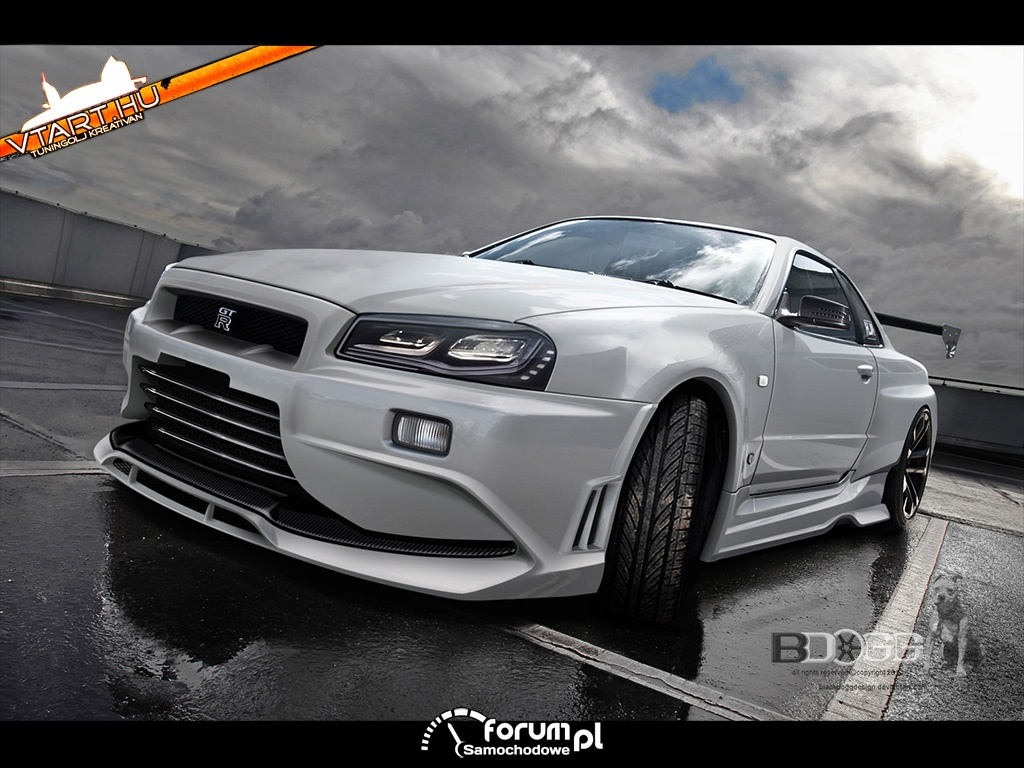 Top Photochop - #1 Nissan Skyline GTR
