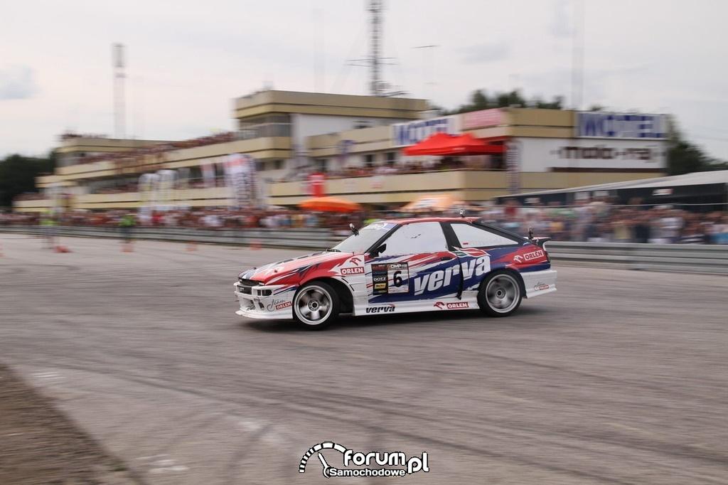 Orlen Team, Przygoński, Driftingowych Mistrzostw Polski 2012.