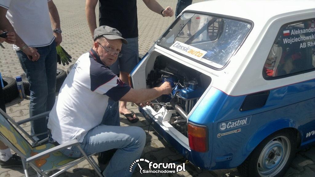 Szybki remont silnika Fiata 126p - I edycja Tor Poznań Track Day PROFI 2012