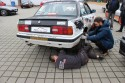 Track Day 23.03.2104, BMW E30, naprawa tylnego koła