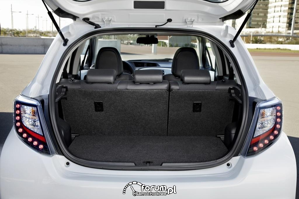 Bagażnik, Toyota Yaris Hybrid