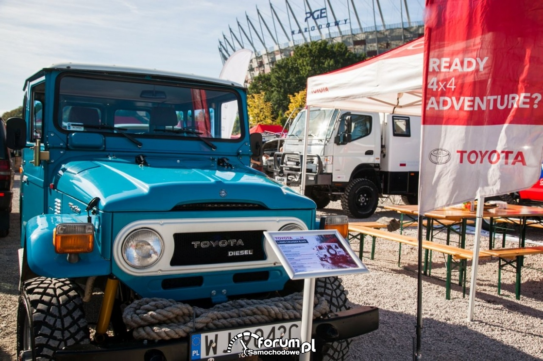 Land Cruiser BJ40 z 1979 roku