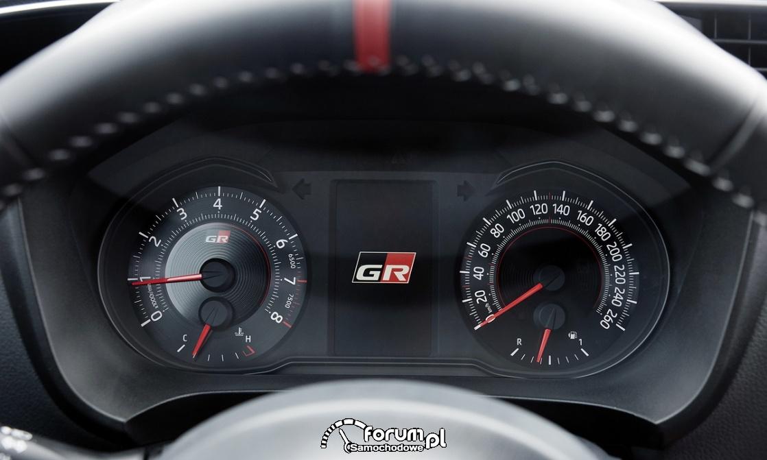 Licznik, Toyota Yaris GRMN - hot hatch