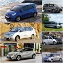 Modele Toyoty z rodziny Verso