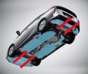 Panele aerodynamiczne podwozia, Toyota Prius