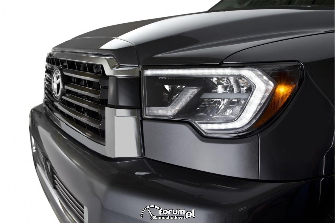 Przednie LEDy, Toyota Sequoia TRD Sport