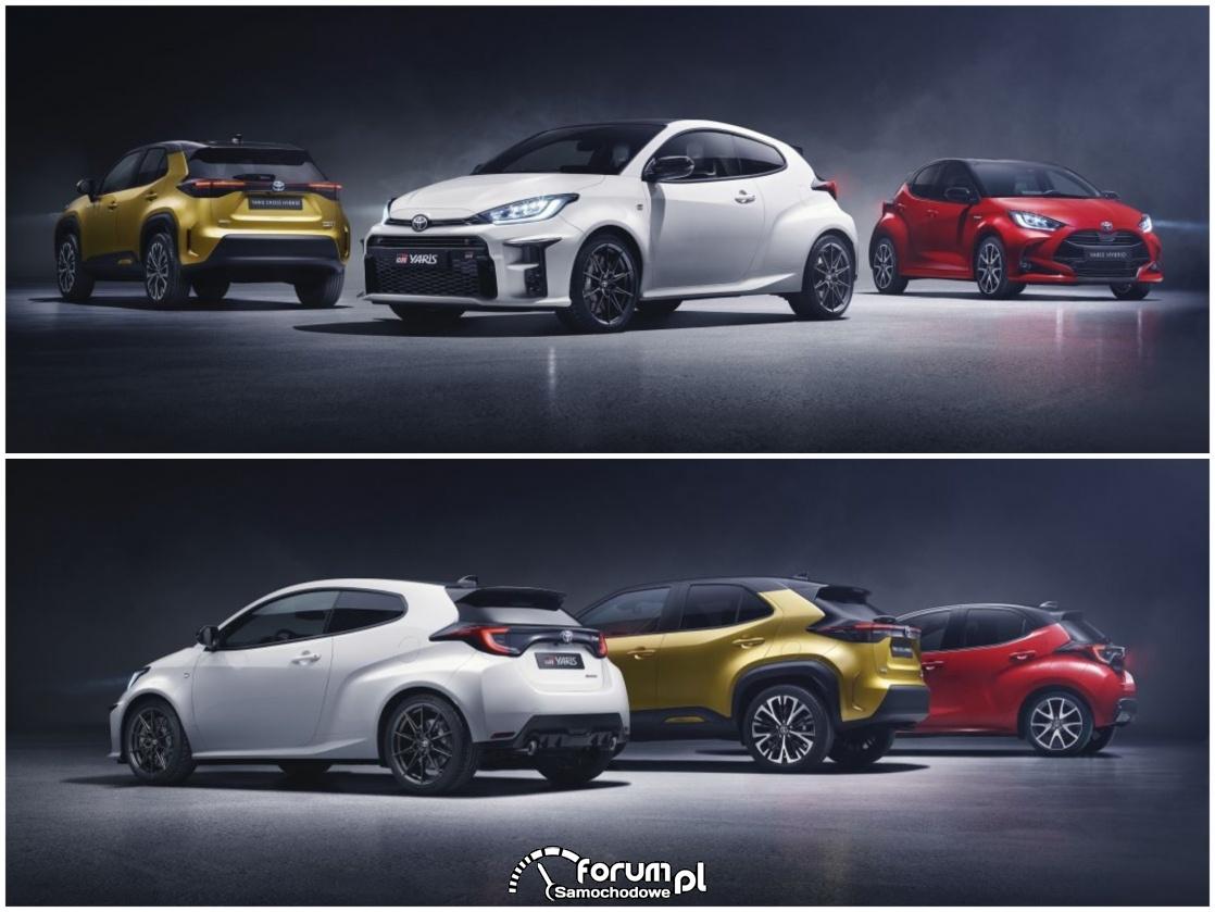 Rozdzina Toyoty Yaris