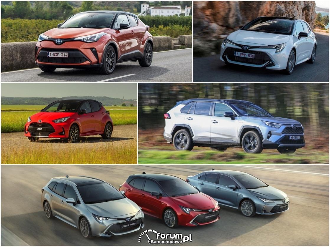 Samochody Toyoty