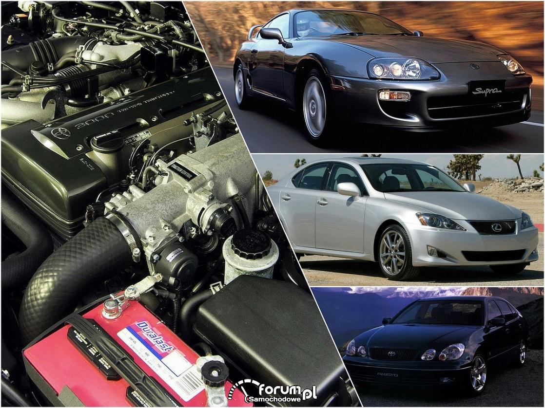 Silnik 2JZ-GTE, Toyota Supra, Aristo, Lexus IS300