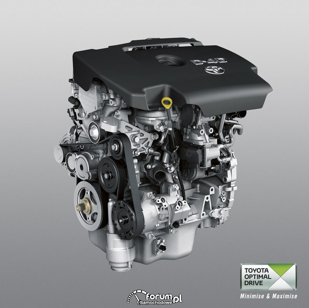 Silnik Diesla 2.0 D-4D, Toyota optimal drive