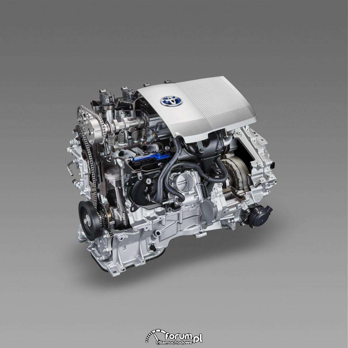 Silnik Hybrydowej Toyoty Prius