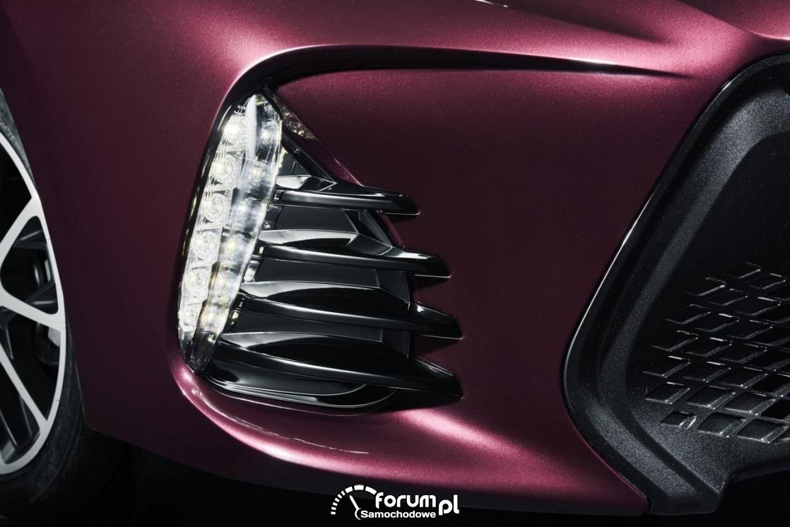 Światła LED do jazdy dziennej, Toyota Corolla