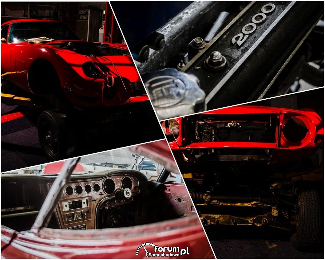 Fabryczna renowacja japońskiego klasyka - Toyota 2000GT
