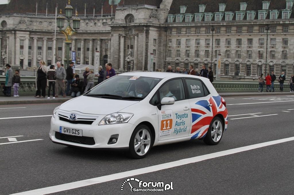 Toyota Auris HSD - samochód hybrydowy