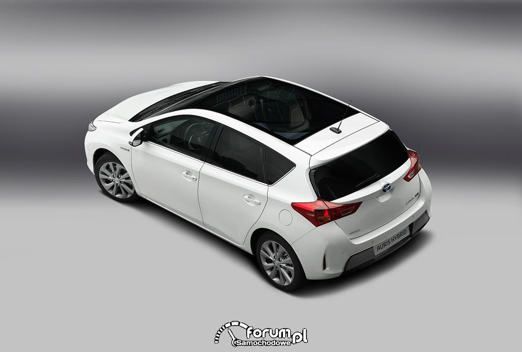 Toyota Auris, przeszklony dach, 2013