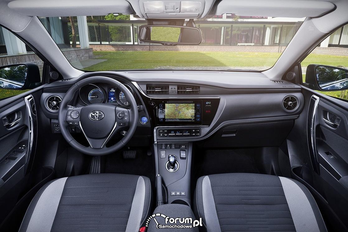 Toyota Auris, wnętrze, 2015