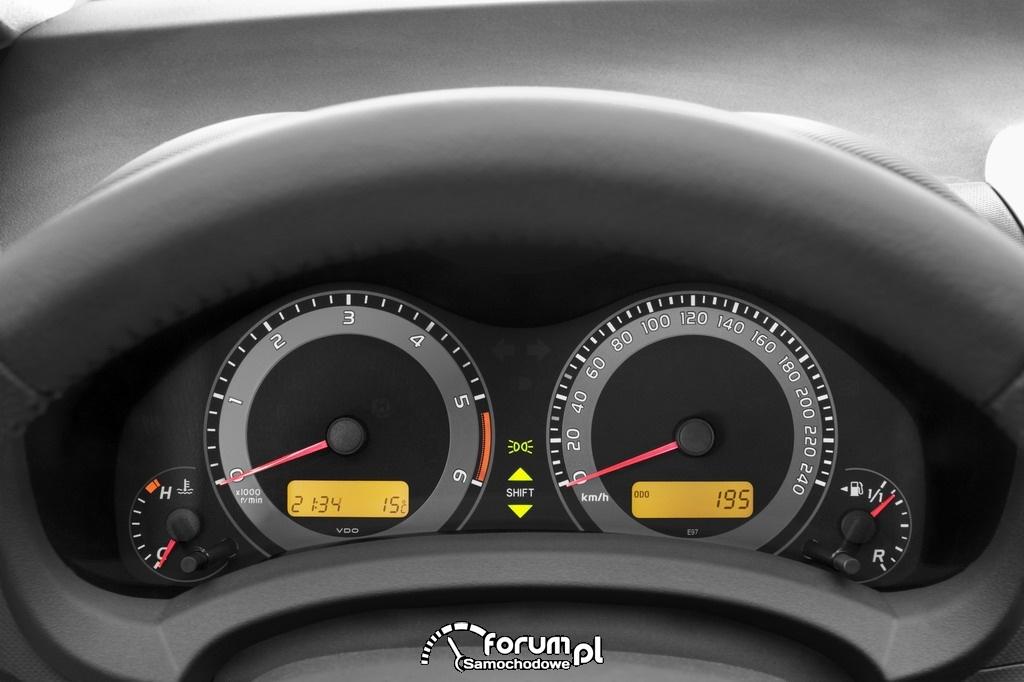 Toyota Auris - wnętrze