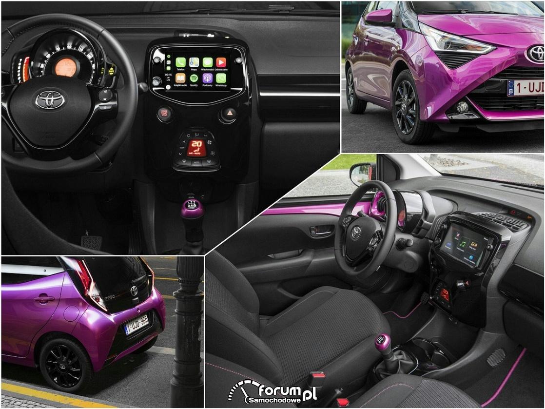 Toyota Aygo 2018, facelifting