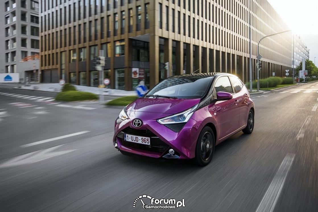 Toyota Aygo 2018 facelifting