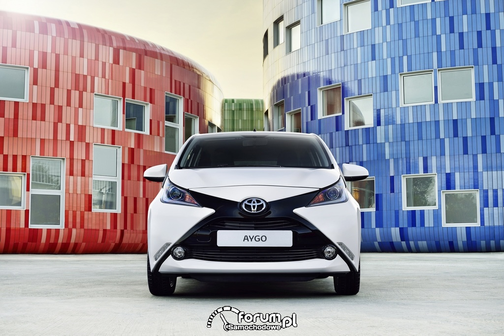 Toyota AYGO, przód