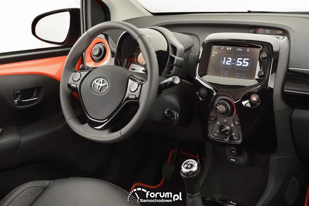 Toyota AYGO, wnętrze