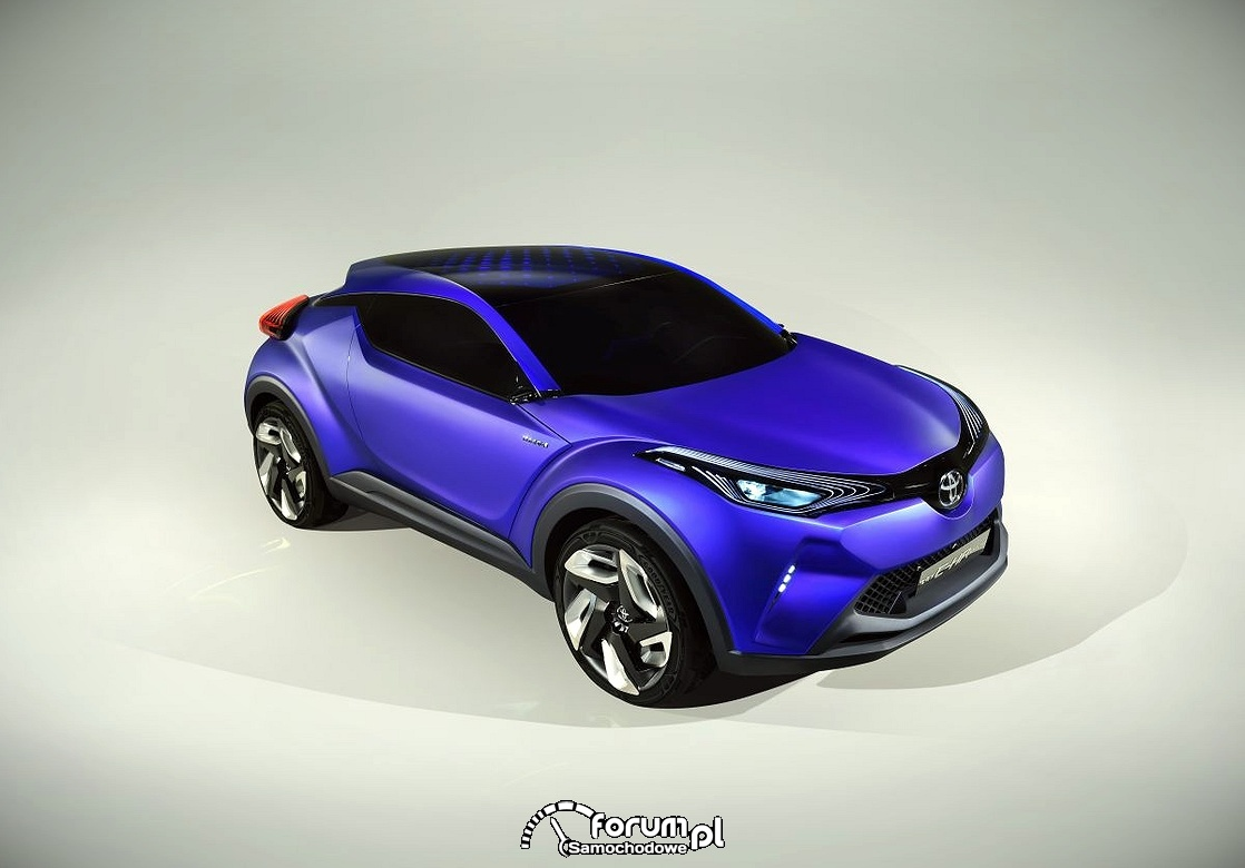 Toyota C-HR Concept, 2014
