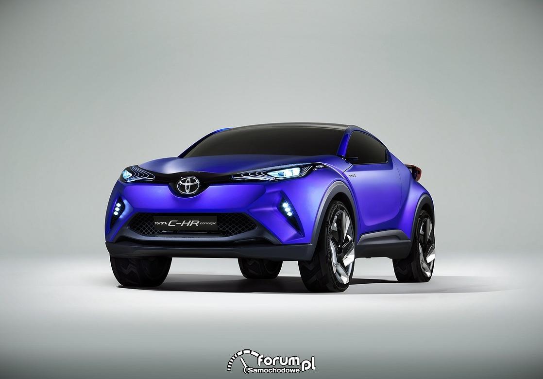 Toyota C-HR, concept