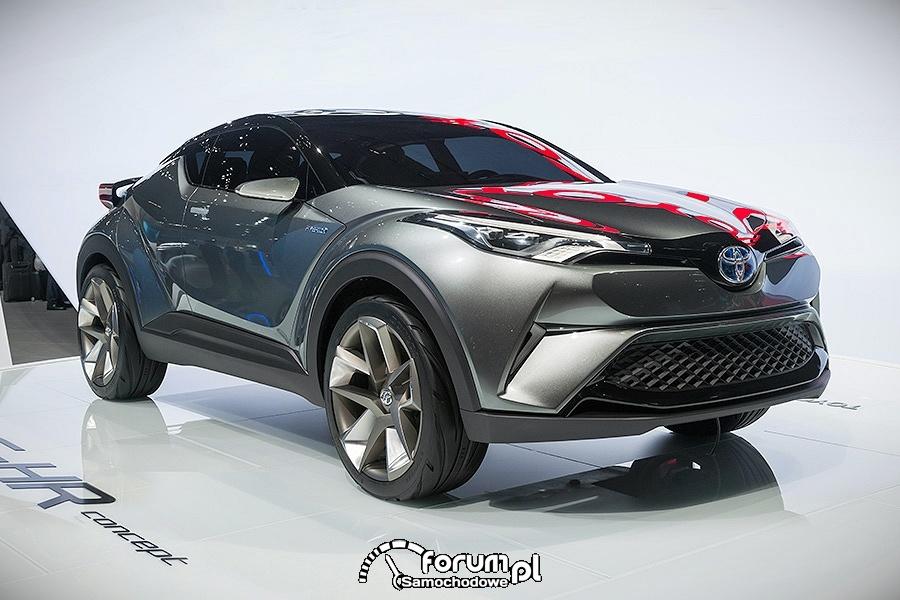 Toyota C-HR, hybrydowy crossover