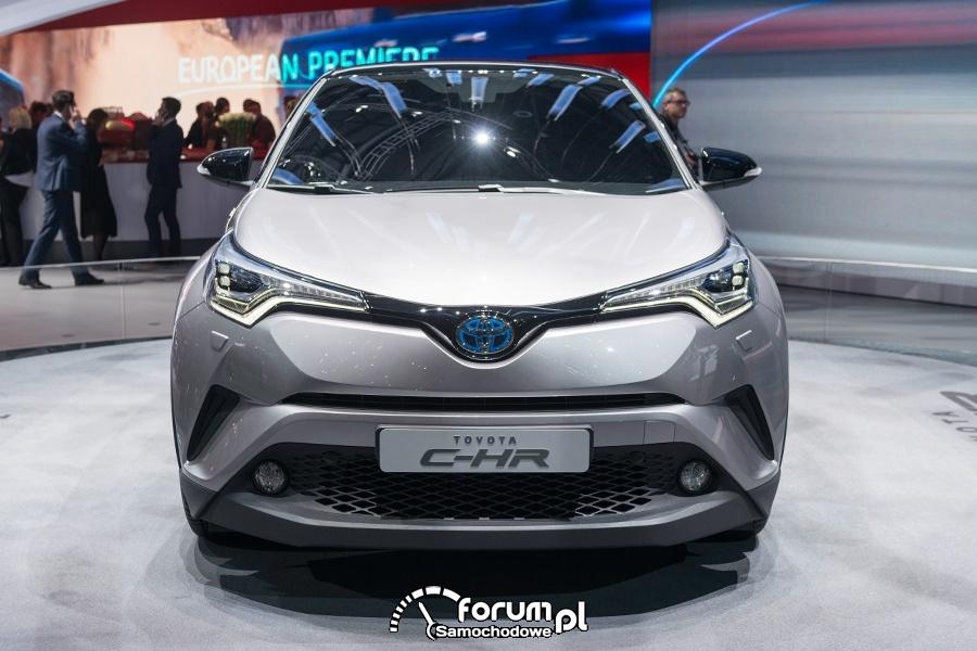 Toyota C-HR, przód