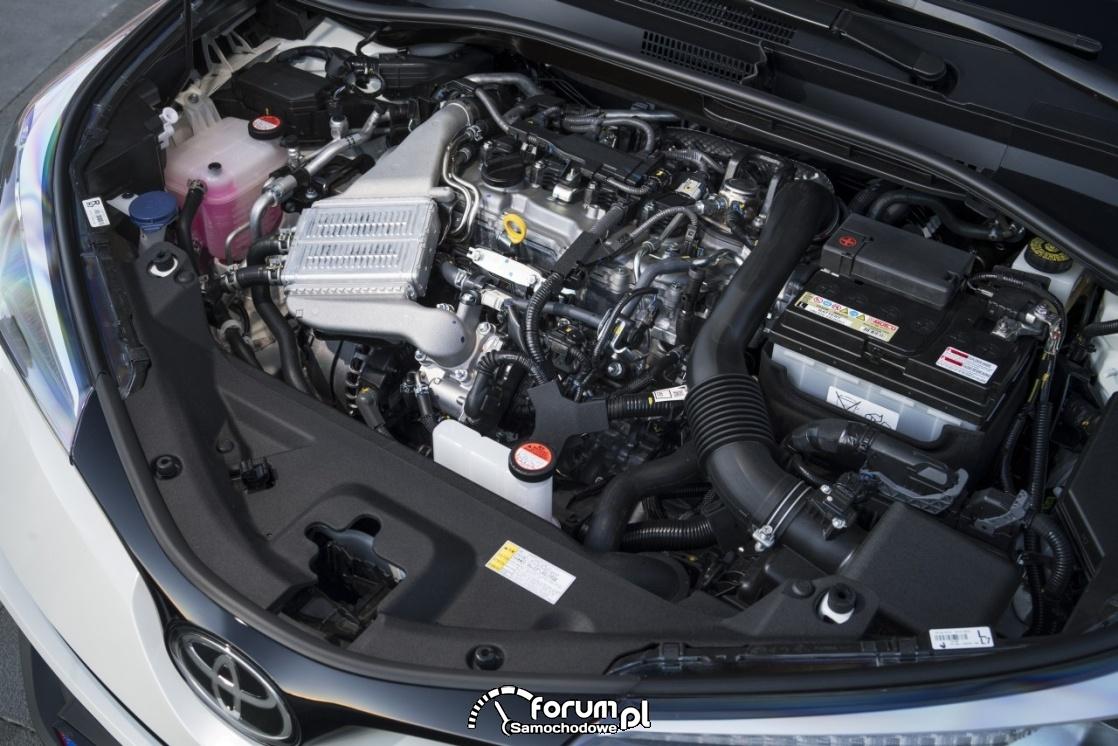 Toyota C-HR, sillnik D-4T VVTi-W 8NR-FTS