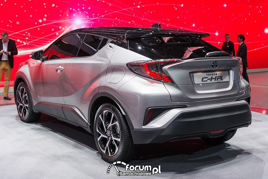 Toyota C-HR, tył