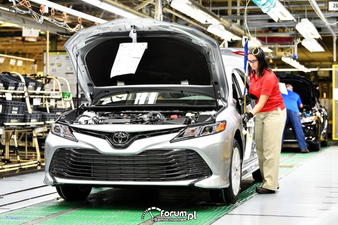 Toyota Camry, 2018, linia produkcyjna