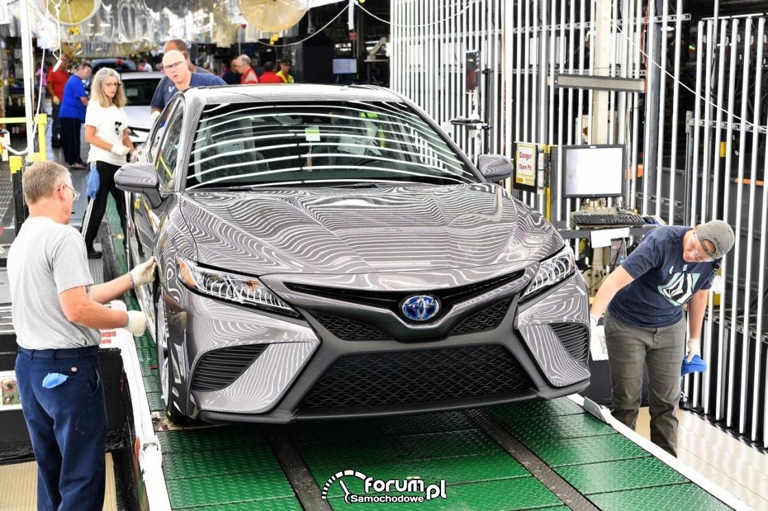 Toyota Camry, 2018, przód