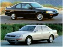 Toyota Camry LE V6 sedan i coupe, 1995 rok
