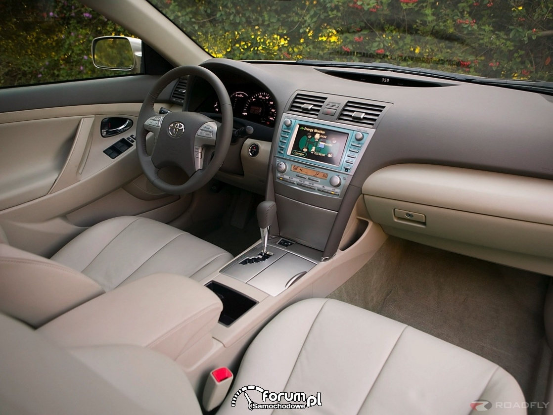 Toyota Camry, wnętrze
