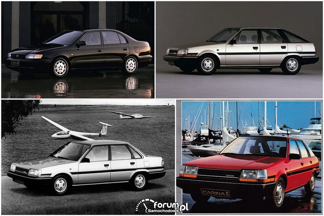 Toyota Carina, generacje