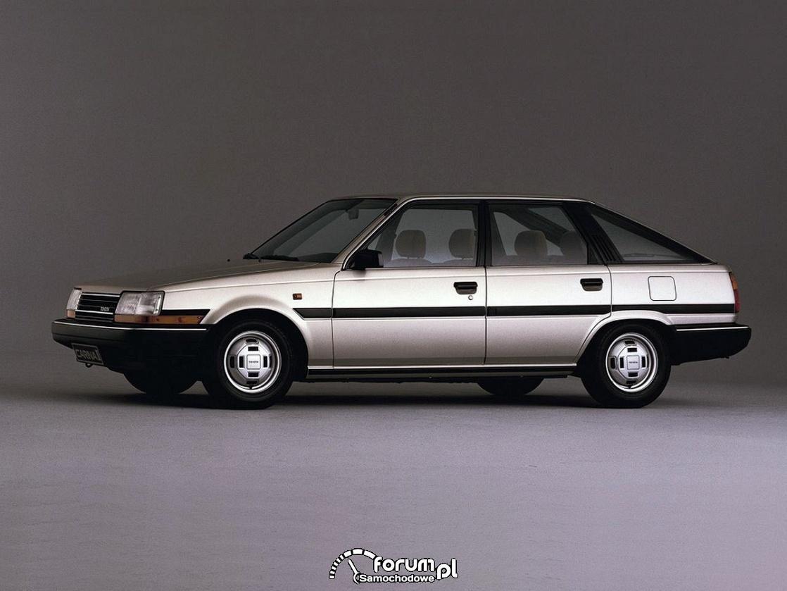 Toyota Carina II liftback, 1984 rok