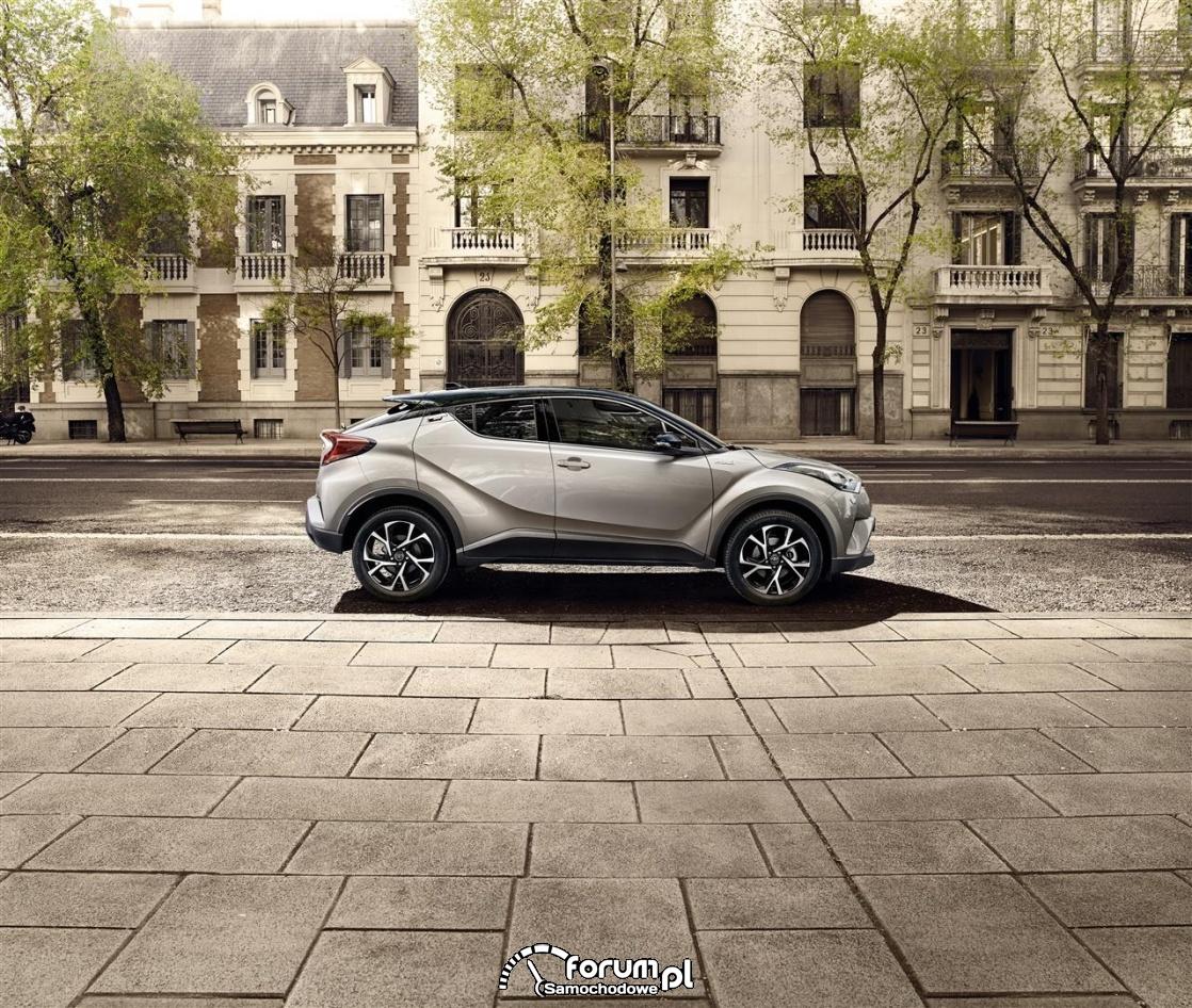Toyota CH-R, 2016, bok
