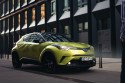 Toyota CHR, neon lime