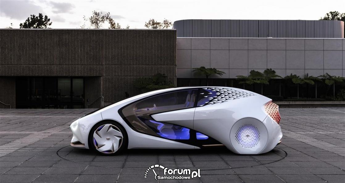 Toyota Concept-i, bok
