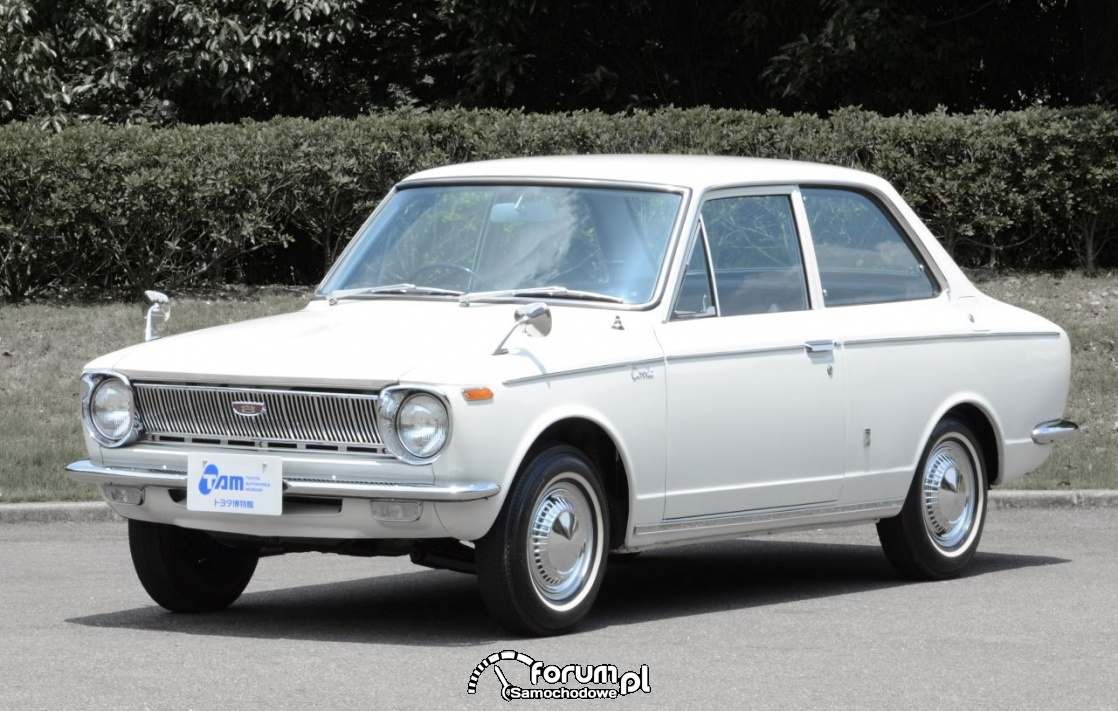 Toyota Corolla 1966 rok