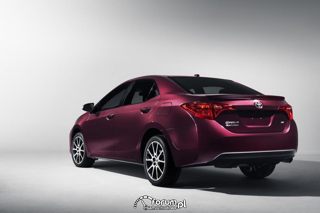 Toyota Corolla, 2017, tył
