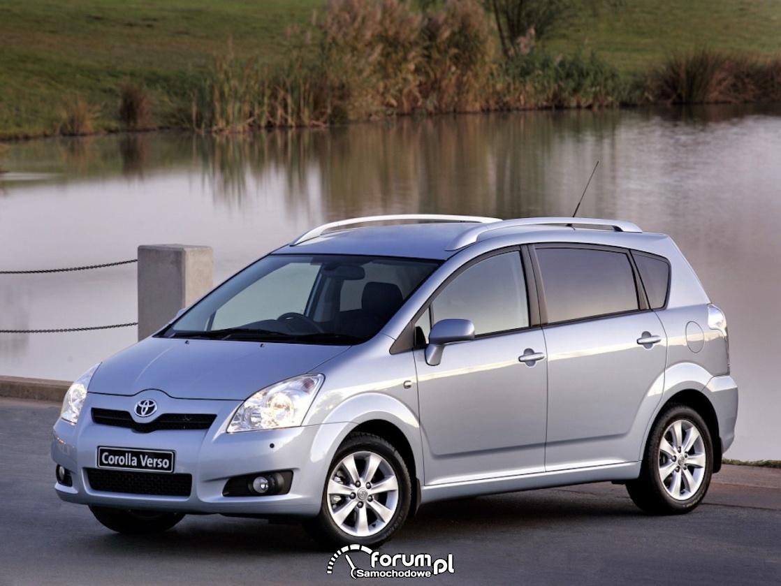 Toyota Corolla Verso, 2007-2009 rok