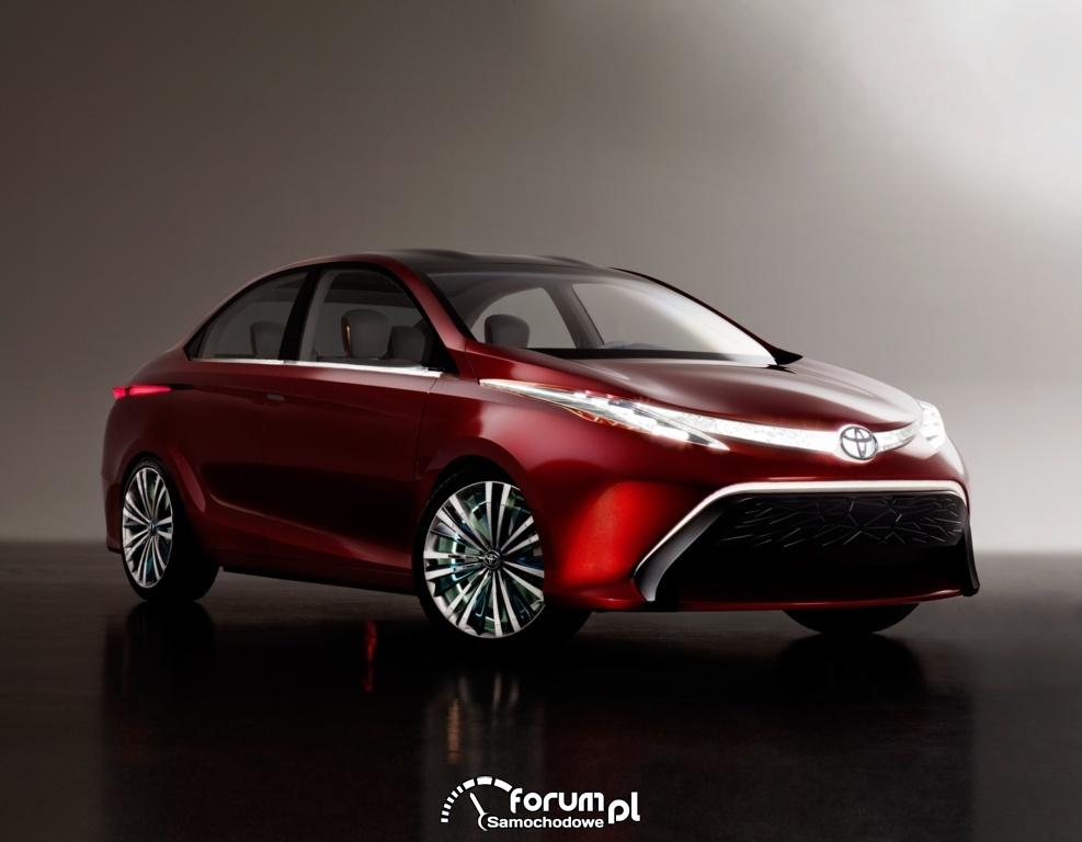 Toyota Dear Qin sedan concept