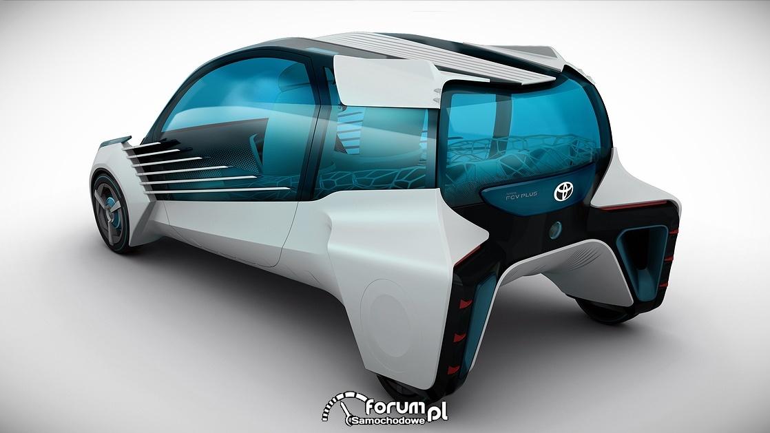 Toyota FCV Plus, tył