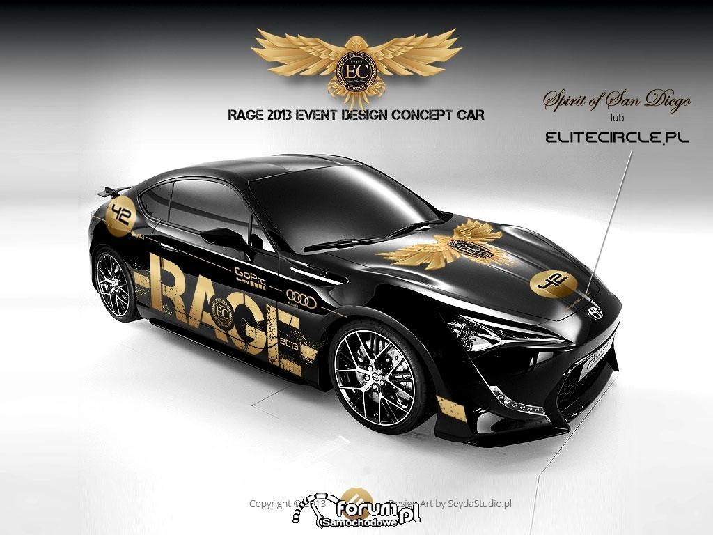 Toyota FT-86 II, Rage 2013