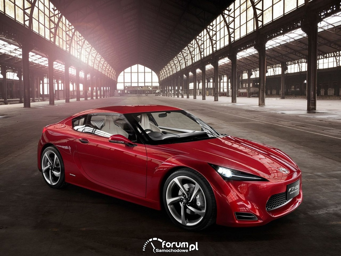 Toyota FT 86 RWD sports coupe concept, 2009
