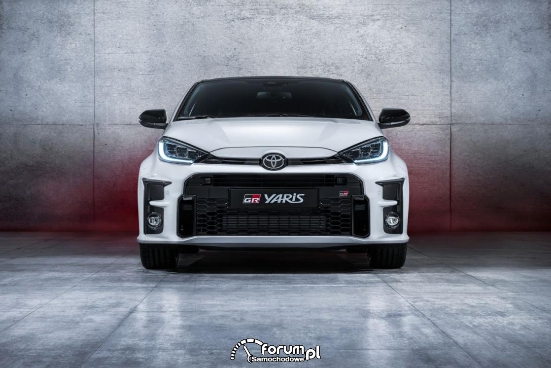 Toyota GR Yaris, przód