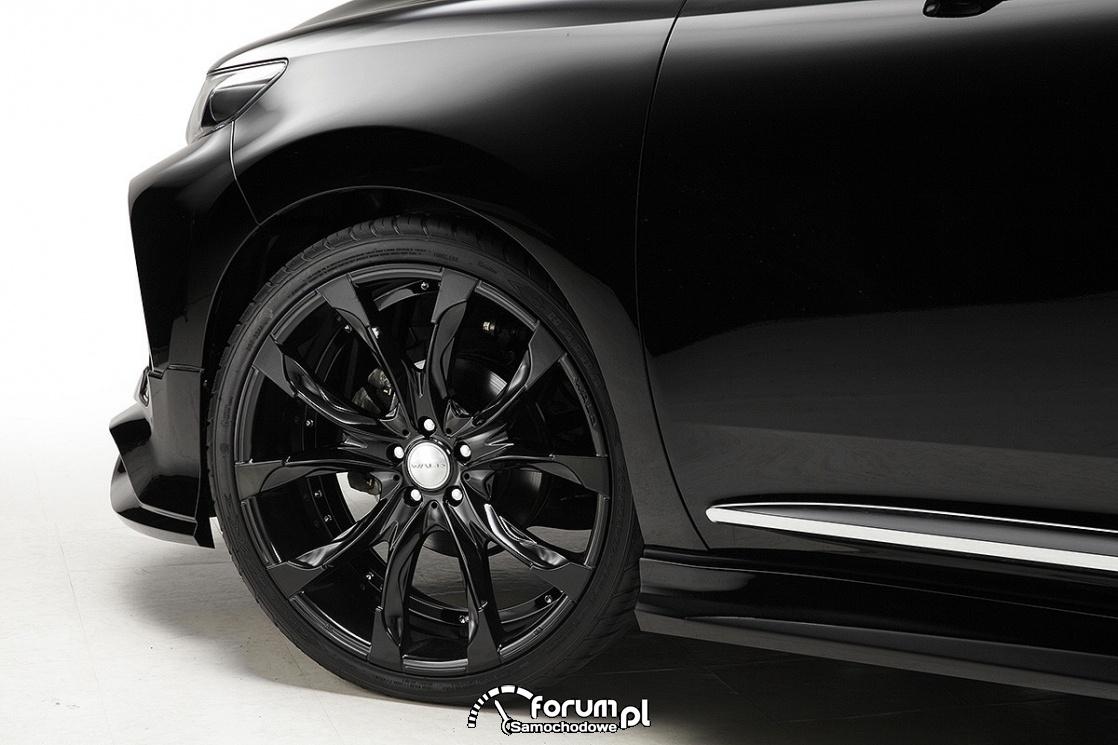 Toyota Harrier WALD Sports Line, alufelgi Gloss Black